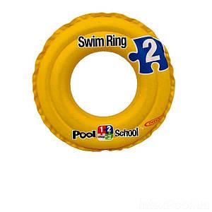 Надувной круг «Pool School» Intex 58231, 51 см, (Оригинал)