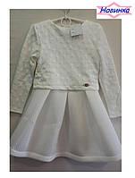 """Платье для девочки с сумочкой """"Эльза2_6"""", упаковка 4 штуки, рост от 128 до 146 см"""