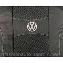 Чохли Nika модельні для Volkswagen Caddy III 7 місць сірий колір