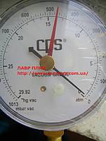 Bакуумметр RGVAR механический диаметр 80мм