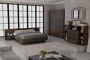 Спальня «Вірджинія» (таксус+графіт), виробник Нєман