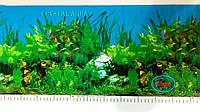 Фон №9013 для акваріума з висотою 30 см