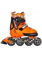 Роликові ковзани Nils Extreme NA13911A Size 31-34 Orange, фото 1