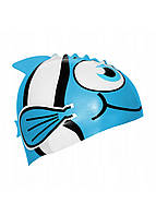 Шапочка для плавания детская SportVida SV-DN0016JR Blue, фото 1