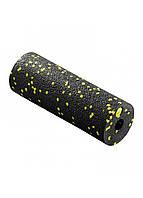Массажный ролик (валик, роллер) 4FIZJO Mini Foam Roller 15 x 5.3 см 4FJ0081 Black/Yellow