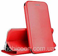 Чехол - книжка G-case для Xiaomi Redmi Note 10 Pro Red