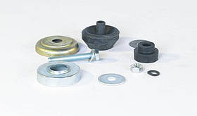 Комплект крепления опоры двигателя передняя задняя в сборе ГАЗ 51, 52,66, УАЗ,ПАЗ (10 комплектующих)