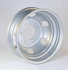 Диск колесный 16H2х5,5J ГАЗ 3302, IVECO (круглые отверстий ) (арт. 3302-3101015-05)