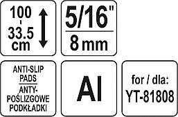 Регулируемый штатив YATO YT-81809, фото 3