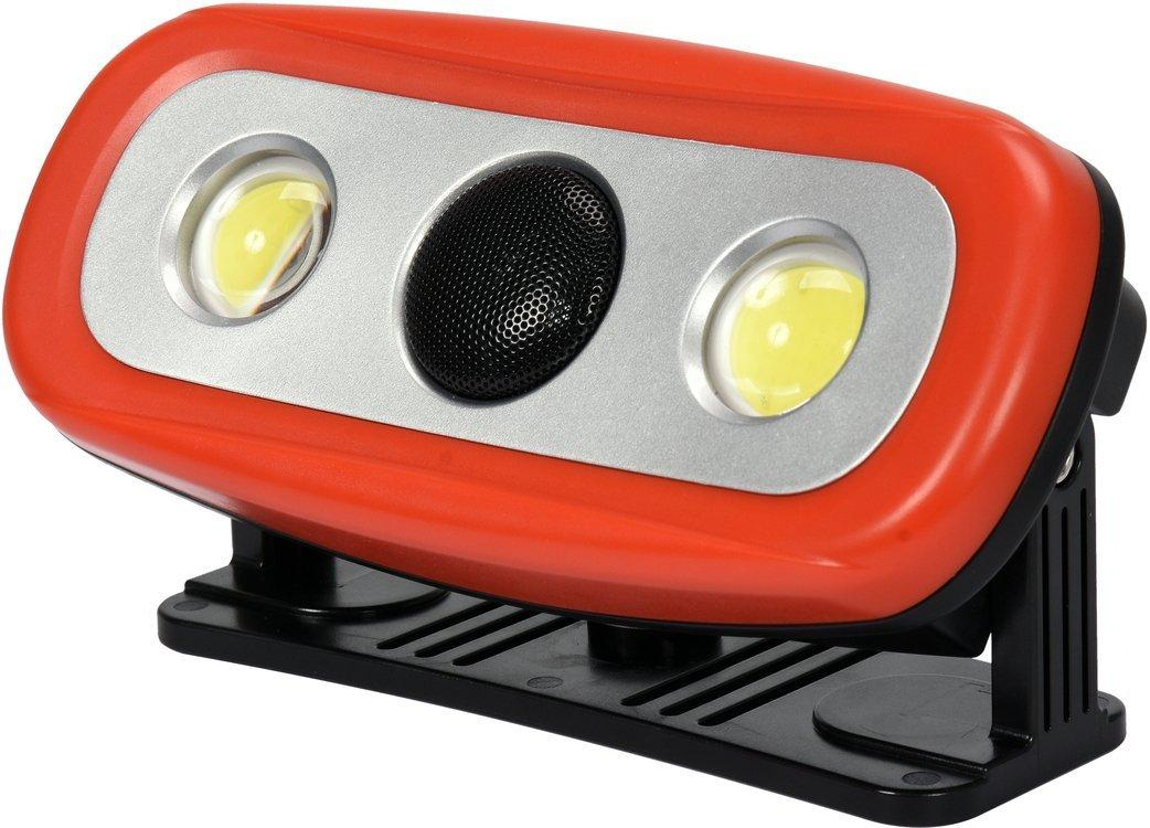 Переносний прожектор з гучномовцем YATO YT-81808