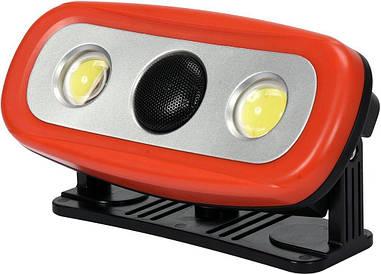 Переносной прожектор с громкоговорителем YATO YT-81808