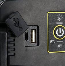 Переносний прожектор з гучномовцем YATO YT-81808, фото 2