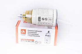 Елемент фільтра паливного з кришкою-відстійником DAF, КАМАЗ ЄВРО-2 (арт. PL 270Х)