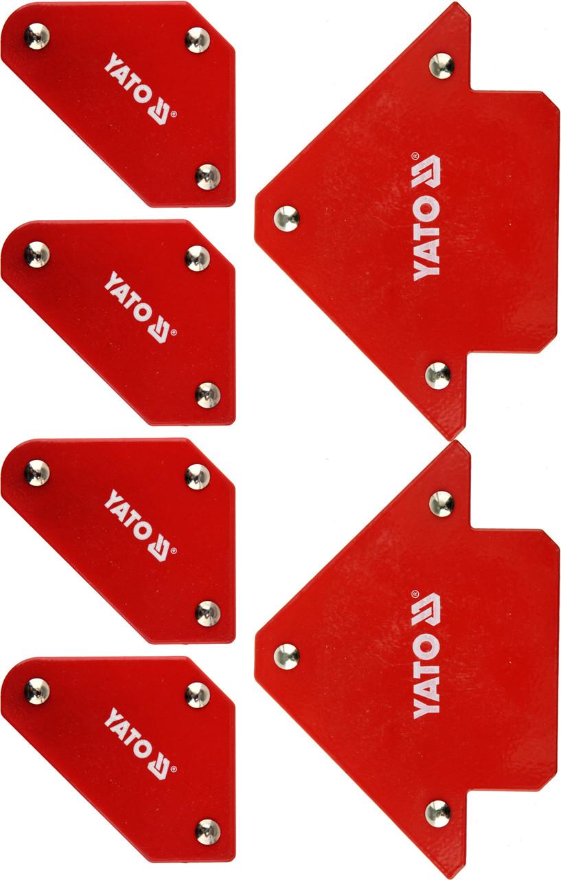 Набір зварювальних магнітних куточків YATO YT-08678