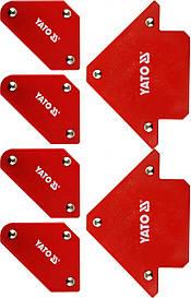 Набор сварочных магнитных уголков YATO YT-08678