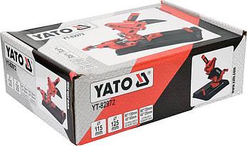 Підставка для болгарки з функцією подачі і різання YATO YT-82972, фото 3