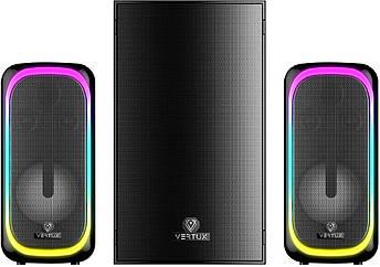 Акустична система Vertux SonicThunder-50 Вт 2.1 LED Black