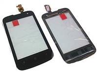 Fly IQ430 black тачскрин, сенсорная панель, cенсорное стекло