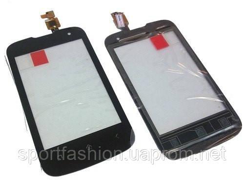 Fly IQ430 black тачскрин, сенсорная панель, cенсорное стекло - Интернет-магазин Unitell в Украинке