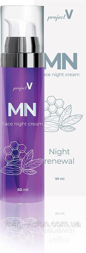 MN - нічний омолоджуючий крем з бакучиолом