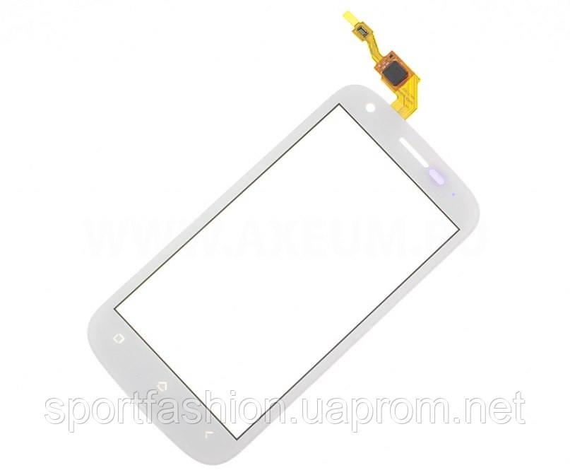 Fly IQ443 white тачскрин, сенсорная панель, cенсорное стекло - Интернет-магазин Unitell в Украинке
