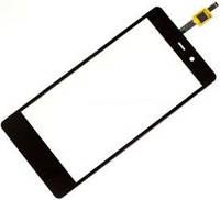 Fly IQ453 black тачскрин, сенсорная панель, cенсорное стекло