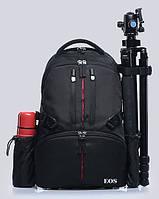 Фоторюкзак Canon. Полуспортивный, удобный рюкзак. Компактный рюкзак для фототехники. Код: КЕ381