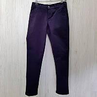 Штаны коттоновые для мальчика 140-156 (10-13л.) арт.6116 синие                                      , фото 1