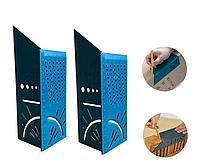 Деревообрабатывающий угловой измерительный 3D угломер для измерения углов, Квадратный измерительный инструмент