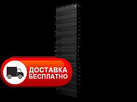 Радіатор біметал чорний Royal Thermo PianoForte Tower 500/Noir Sable 18 секцій