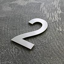 Цифри на двері срібло, фото 2