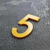 Цифри на двері золото, фото 2