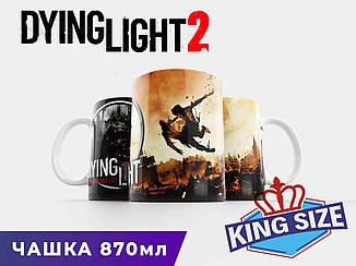 """Большая чашка Dying Light 2 """"Flying Robot"""""""