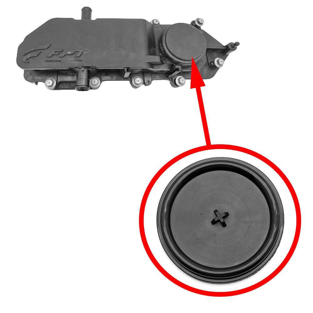 Мембрана маслоотделителя Fiat Peugeot Citroen 2.3 JTD / HPI / MJTD 504132147