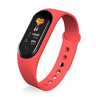 Женский фитнес-браслет M5S с шагомером и Bluetooth красный