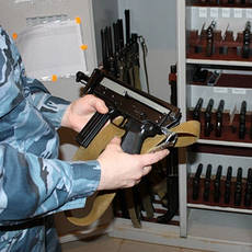 Услуги по хранению оружия и боеприпасов