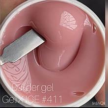 Гель для наращивания ногтей GeliX - GM 411, 1кг