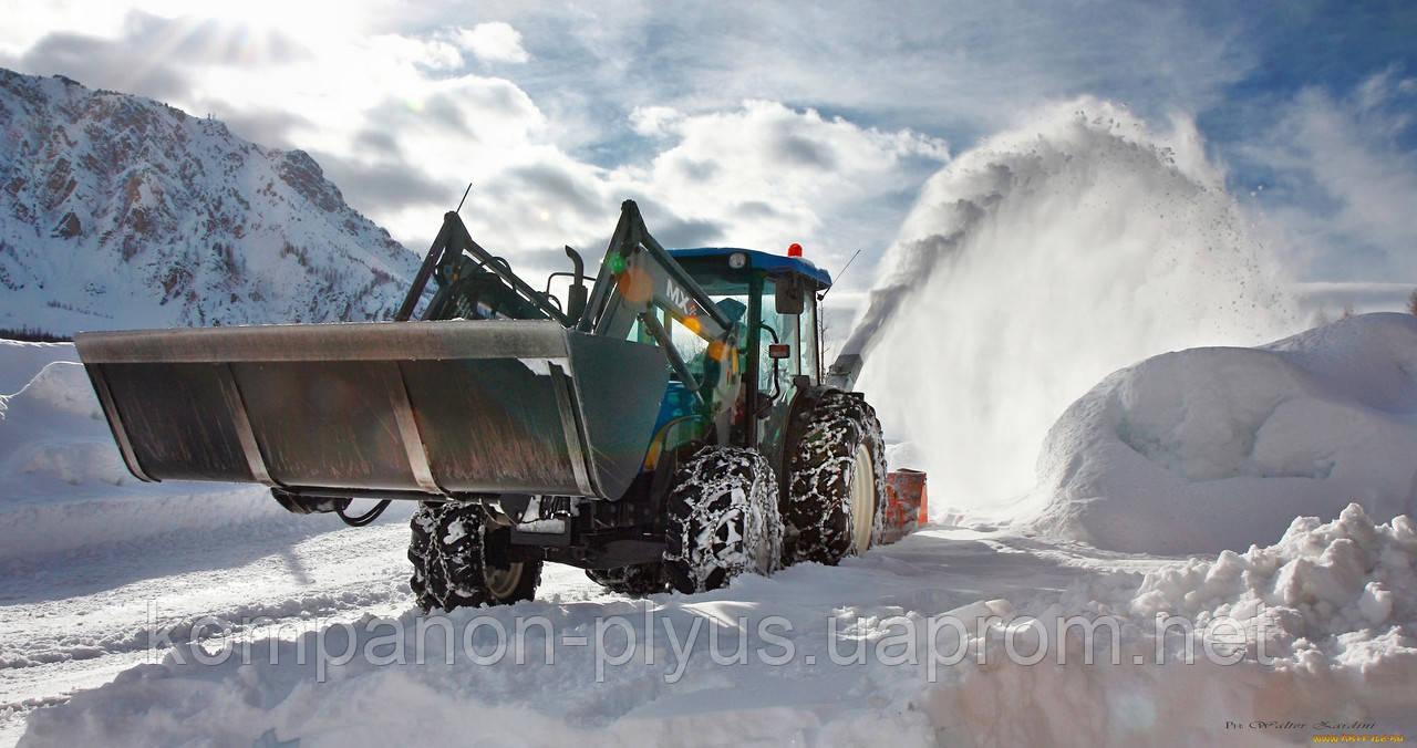 Прибирання снігу, Вивезення снігу