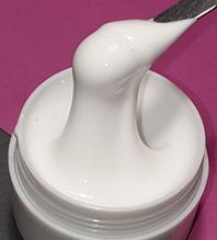 Гель для нарощування нігтів GeliX 413 ультра білий, 1 кг