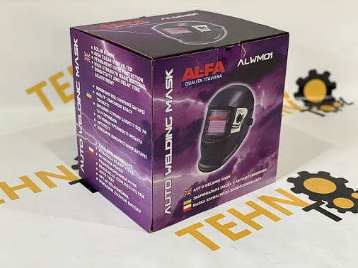 Зварювальна маска хамелеон ALFA (3 регулятора), фото 2