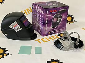 Зварювальна маска хамелеон ALFA (3 регулятора)