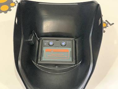 Зварювальна маска хамелеон Eurocraft (3 регулятора), фото 3