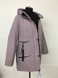 Модная женская куртка парка размеры 48-54