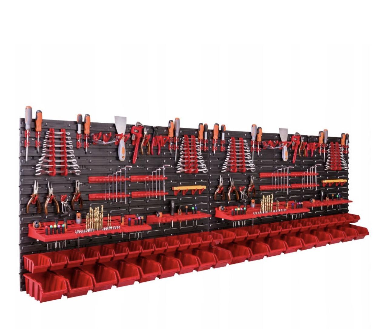Панель для инструментов 230*78 см + 50 контейнеров