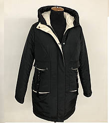 Осенняя женская куртка парка размеры 48-54