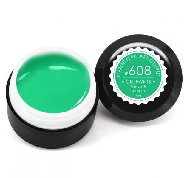 Гель-фарба CANNI 608, 5 ml