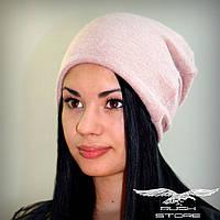 Женская шапка из ангоры