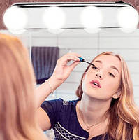 Лампа для нанесения макияжа Studio Glow Подсветка на зеркало