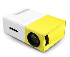 Проектор портативный с мультимедийным  динамиком Led Projector YG300