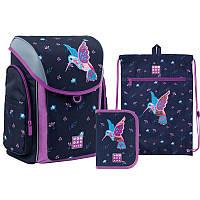 Набор рюкзак + пенал с наполнением + сумка для обуви WK 583 Colibri